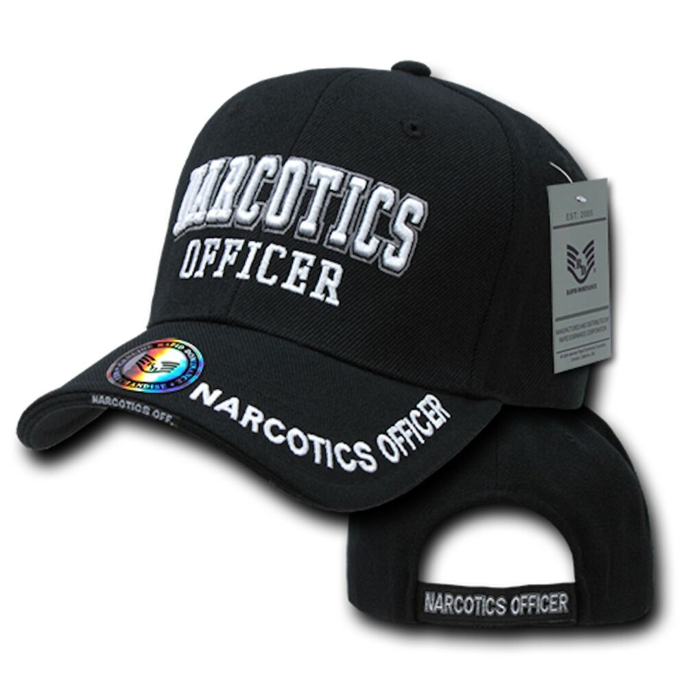 how to make police cap