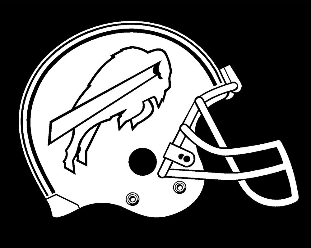 bills helmet coloring pages - photo#9
