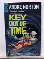 1960s Key Out of Time-Andre Norton ACE F-287 Paperback Book (L5100)