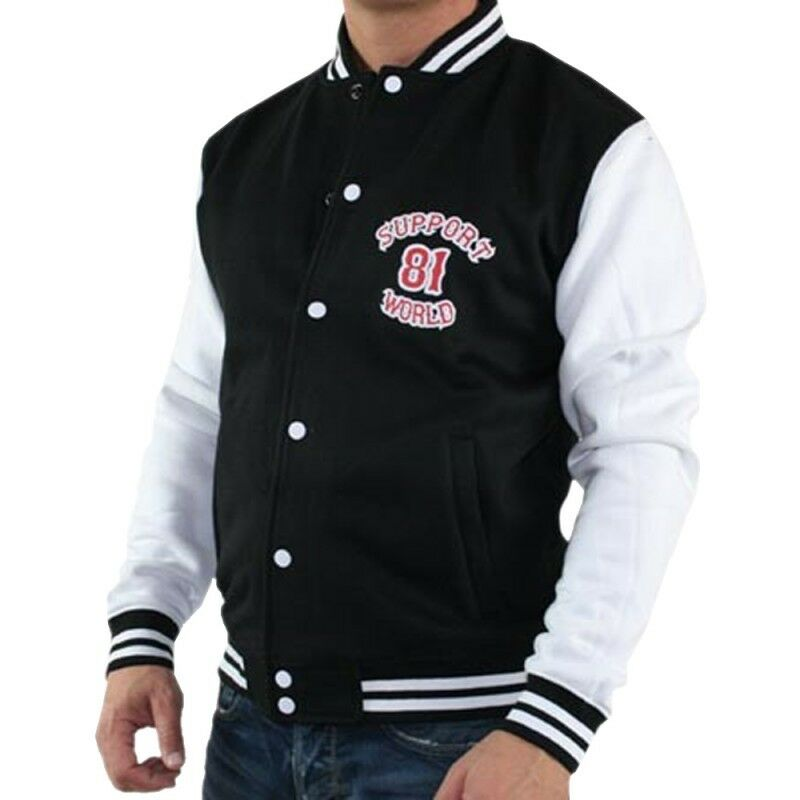 836 support 81 world college hells angels jacke ebay. Black Bedroom Furniture Sets. Home Design Ideas