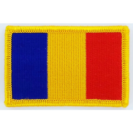 img-PATCH ECUSSON BRODE DRAPEAU TCHAD CHAD INSIGNE THERMOCOLLANT NEUF FLAG PATCHE