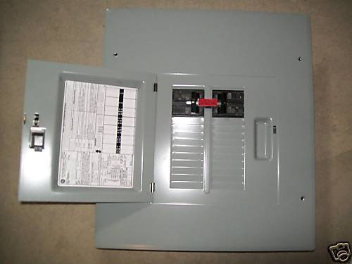 Ge 100a 60a Generator Transfer Switch Breaker Box 20