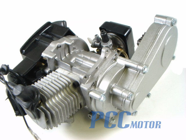 49cc Engine W Transmission Pocket Mini Atv Bike Scooter M