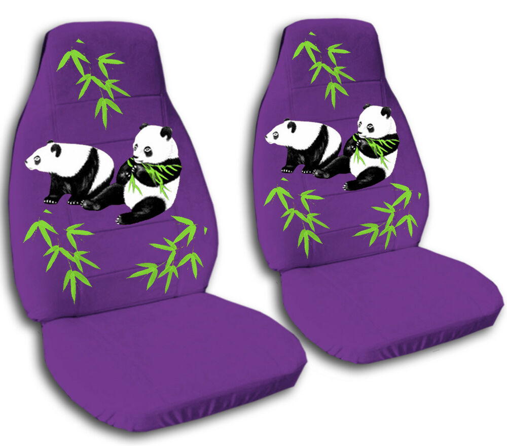 Front Car Seat Covers Purple
