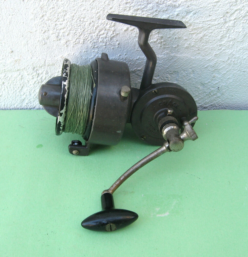 Vintage crack 300 luxor spinning reel ebay for Vintage fishing reels