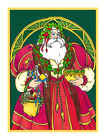 Victorian Father Christmas Santa Claus  # 220 Counted Cross Stitch Chart