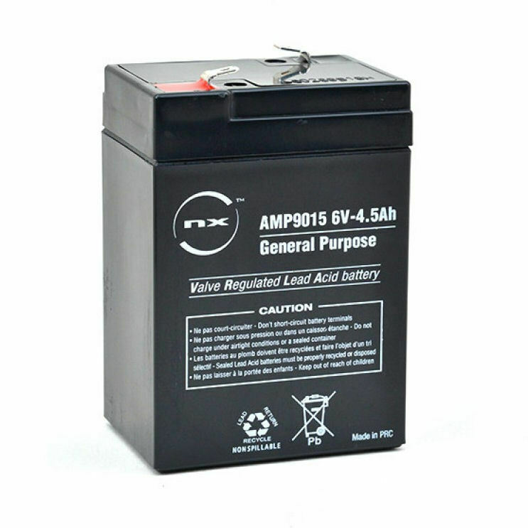 Rechargeable Battery 6 Volt Sealed Lead Acid 4 5ah 6v4 0