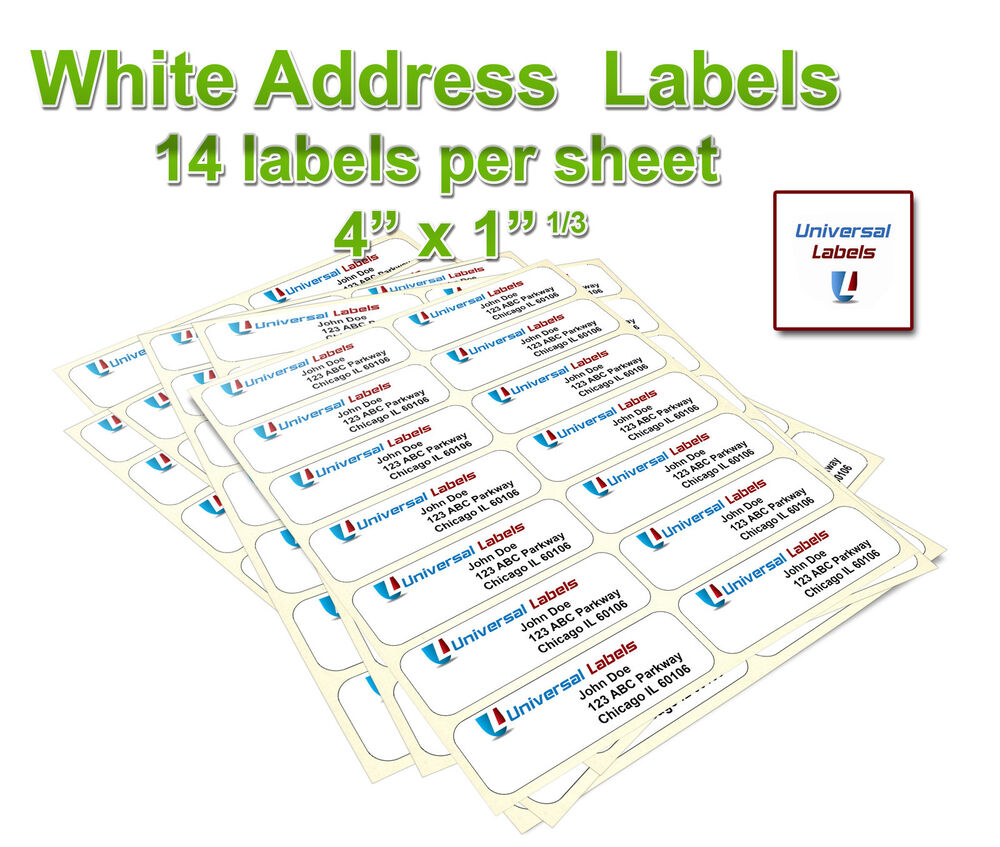 sheet labels