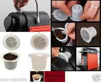 5pcs Newest Reusable Nespresso Capsule set, Built In Stainless Steel Filter