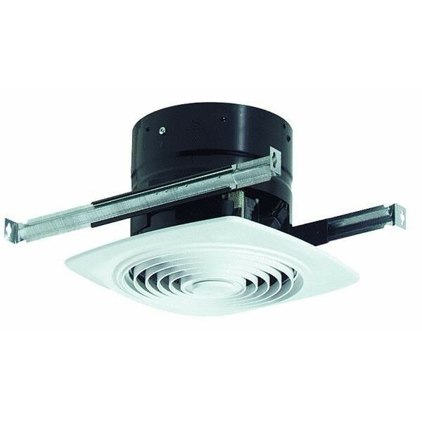 Broan nutone exhaust fan kitchen bathroom workshop ceiling - Ductless bathroom exhaust fan with light ...