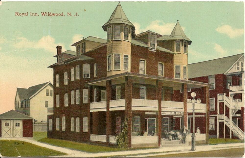 Royal Inn Wildwood New Jersey Nj Postcard 1917 Ebay
