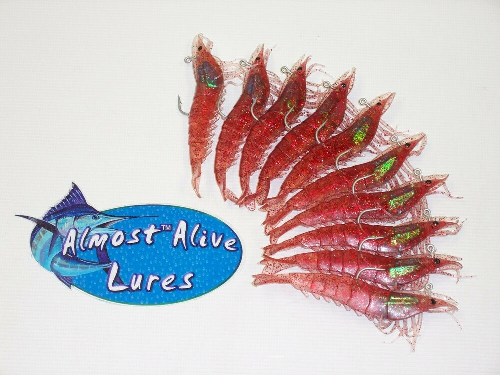 Almost alive lures artificial soft plastic 10 4 1 4 for Snook fishing lures