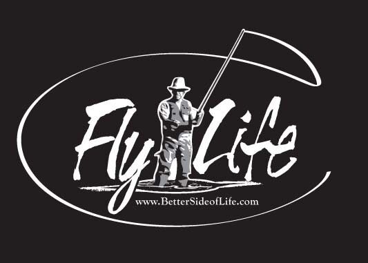 Fly fishing fly life car truck decal contemporary for Fishing stickers for trucks