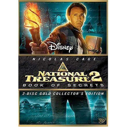 National Treasure 2 : Book of Secrets (DVD, 2008, 2-Disc ...