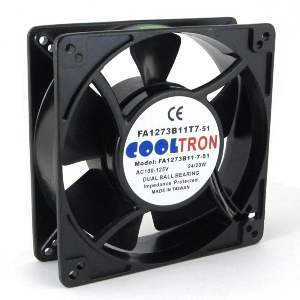 110v / 115v / 120v ac cooling fan. 127mm x 38mm hs ... computer case cooling fan wiring diagram 115v cooling fan wiring