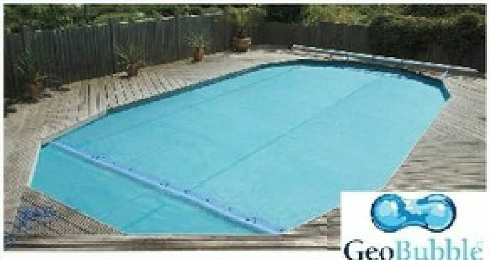 10ft X 20ft Sol Guard 500 Swimming Pool Solar Cover Covers With Free Connectors Ebay
