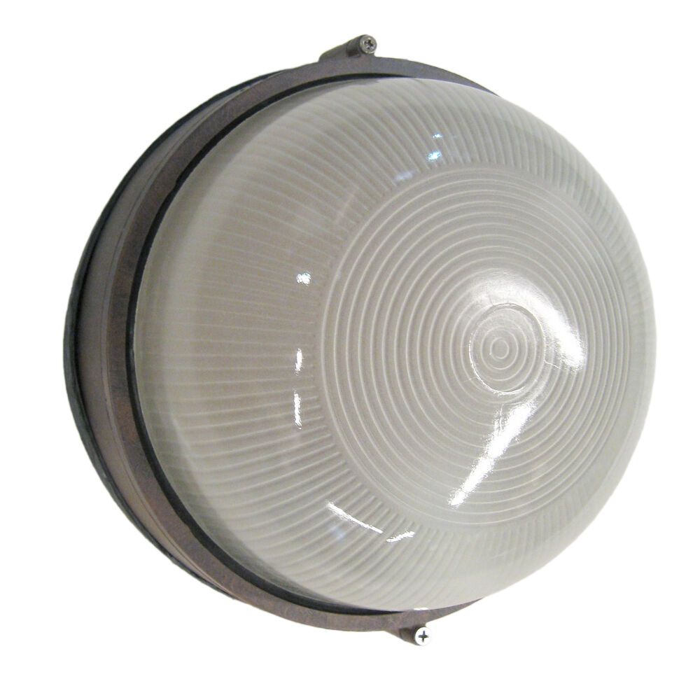 COBBLESTONE ROUND EXTERIOR WALL MOUNT LIGHT FIXTURE eBay