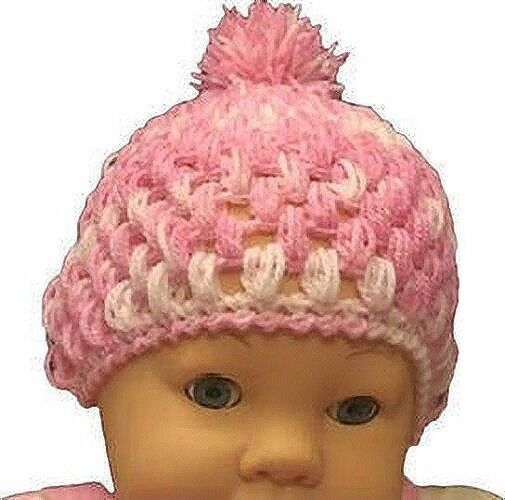 Baby Bobble Hat Crochet Pattern eBay