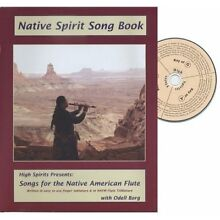 Native American Flute Song Book + CD Spirit Songs #1