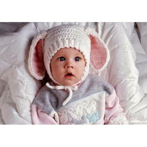 4 Ply Baby Hat Crochet Pattern