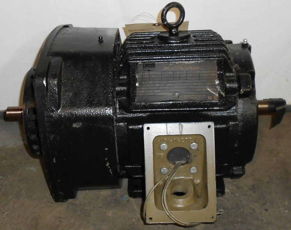 Sls1b12 Reman Lincoln Motors 1 Hp Electric Motor 1170