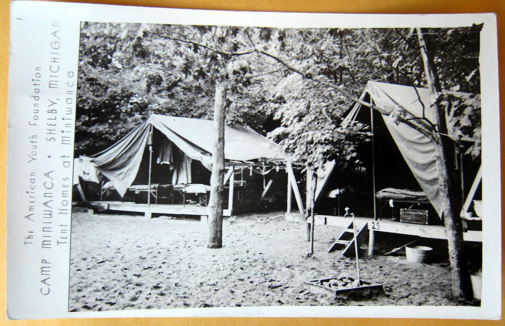 SHELBY Michigan~1944 America Youth Foundation~CAMP ...