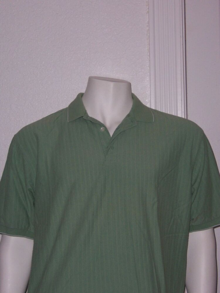 Mens nike golf short sleeve 3 button polo shirt large dry for 3 button polo shirts