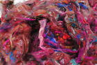 Carded Sari Silk 20g for Felting, Dyeing, Paper