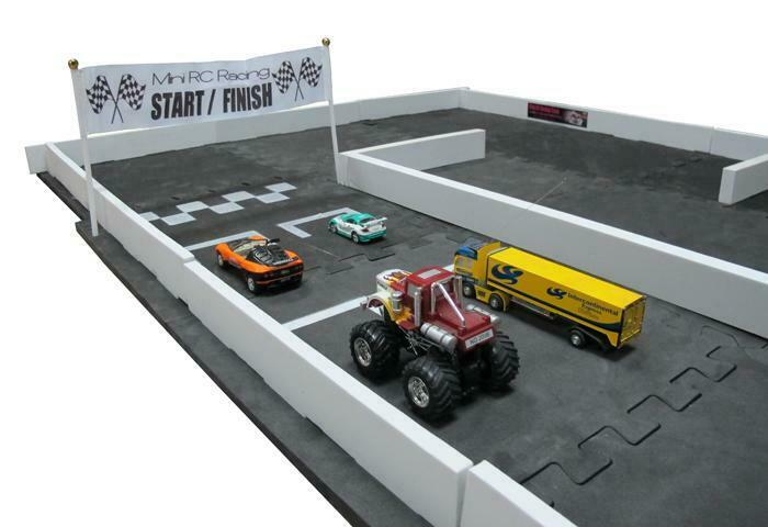 NEW 1st Gen 3' x 5' Mini RC Car Racetrack Set