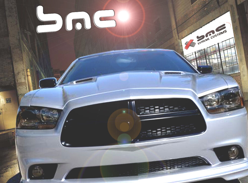 2011 2013 Dodge Charger Rtc Challenger Style Ram Air Hood
