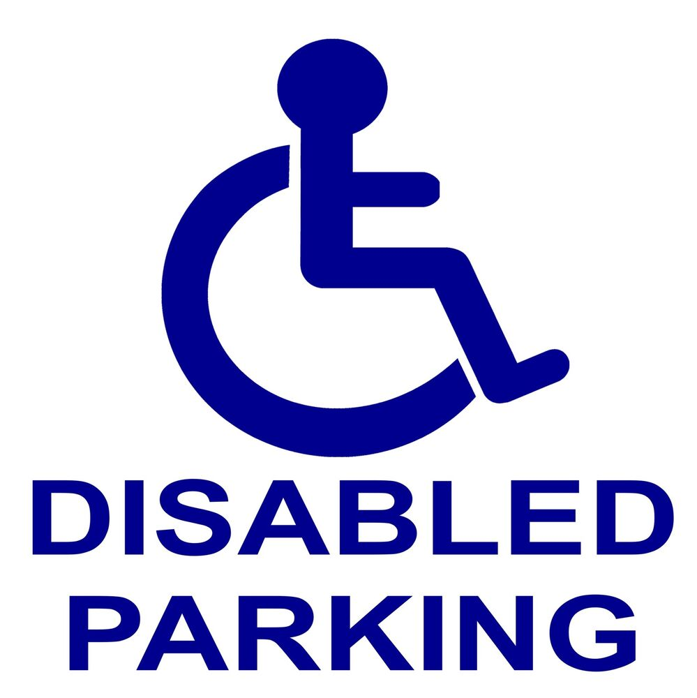 Disabled Sign - Industrial Signs