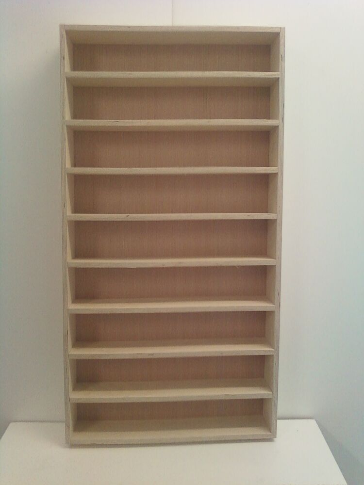 1 24 1 25 diecast and model car display case shelf will hold up to 18 cars ebay - House design new model shelves ...