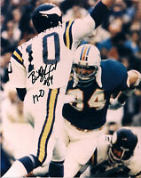 BILL STANFILL MIAMI DOLPHINS 17-0 SIGNED AUTOGRAPHED 8X10 PHOTO W/COA
