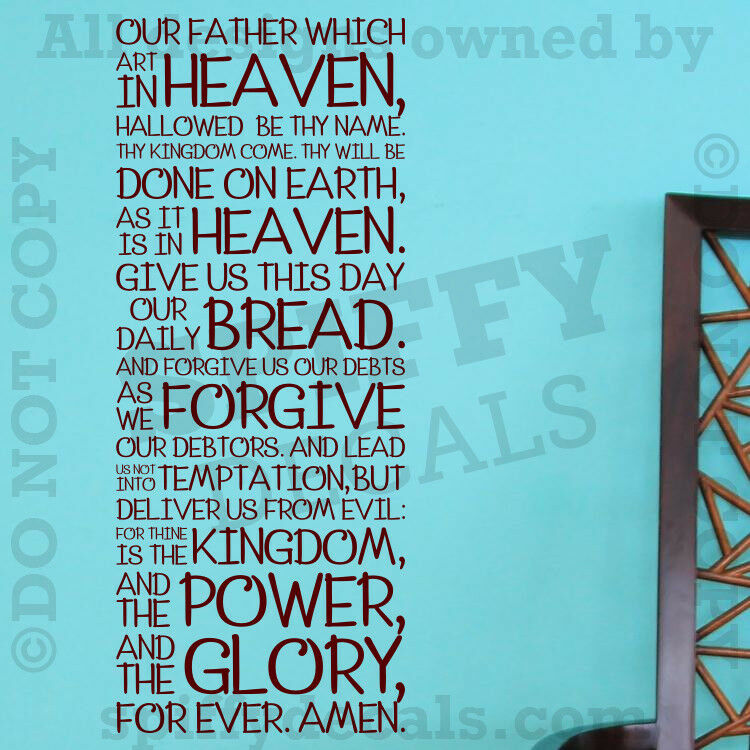 The Lord S Love Wall Decal