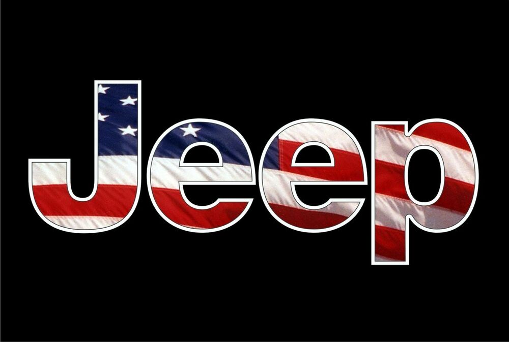 Jeep Usa Flag Camo Vinyl Decal Wrangler 4x4 Cj Rubicontruck Window Sticker Ebay