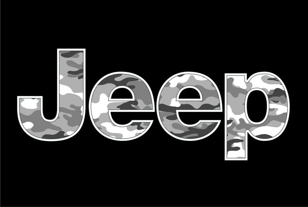 Jeep Urban Camo Vinyl Decal Wrangler 4x4 Cj Rubicontruck
