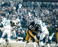 L.C. GREENWOOD PITTSBURGH STEELERS UNSIGNED 8X10 PHOTO