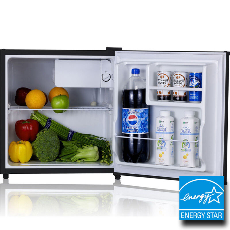 Mini Stainless Steel Refrigerator Amp Freezer Compact Small Dorm ...