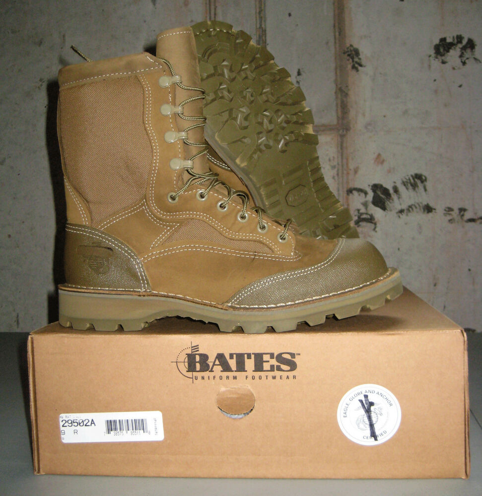 Bates Usmc Hot Weather Rat Boots Olive Mojave Usa Made Ebay