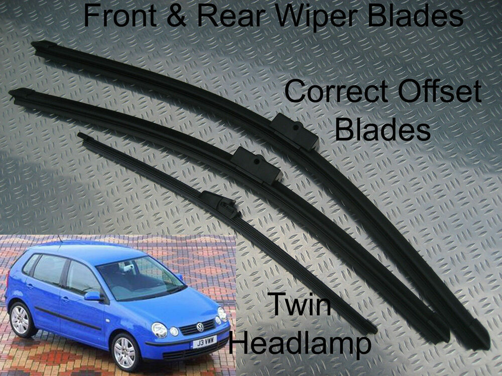 how to change rear wiper blade on vw polo