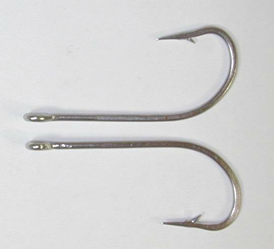 25 34007 7 0 stainless steel fish hooks flies bait lure for Stainless steel fishing hooks