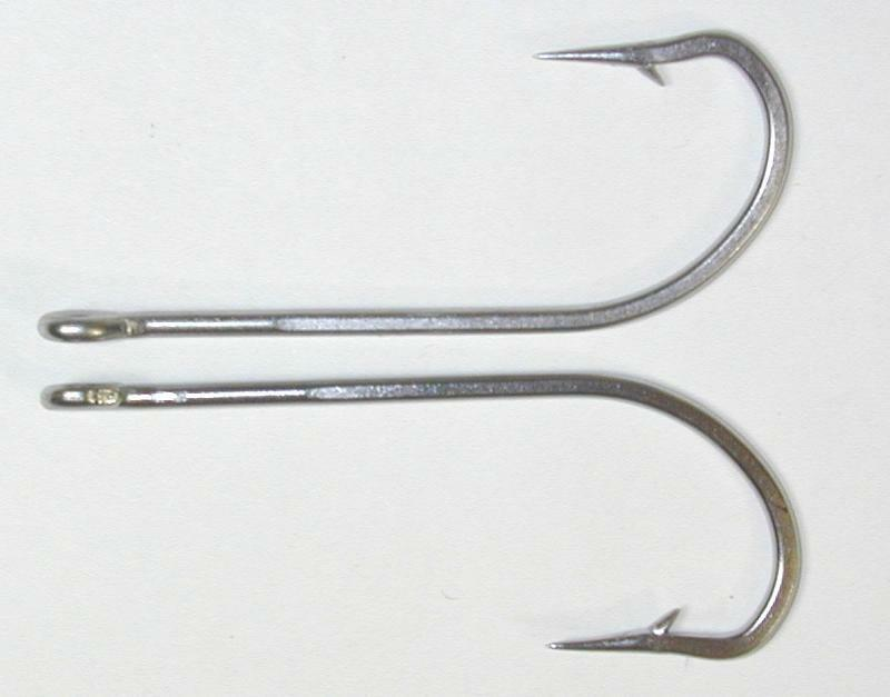 25 34007 8 0 stainless steel fish hooks flies bait lure for Stainless steel fishing hooks