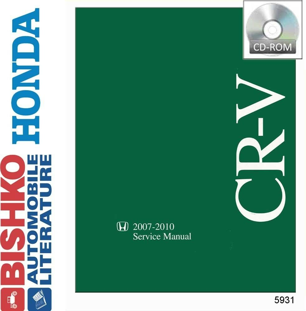 2007 2008 2009 2010 Honda CR-V CRV Shop Service Repair Manual CD OEM Guide  | eBay