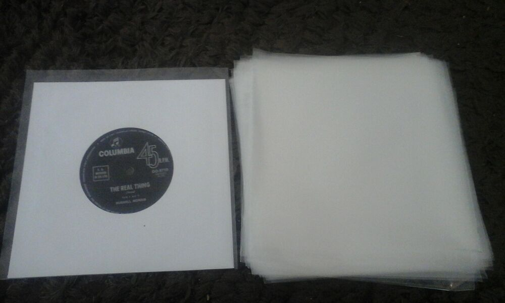 45 New Plastic Outer Record Cover Sleeves For 7 Quot 45 Ep