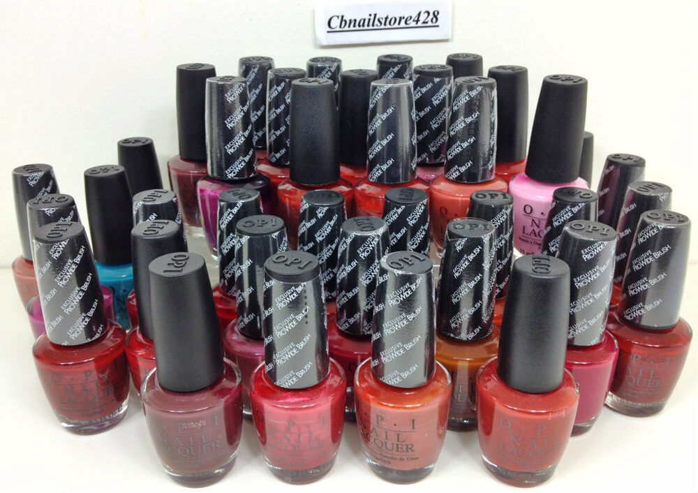 Discontinued Opi Nail Lacquer Collection Of Very Rare Colors 5oz Series 4 Ebay