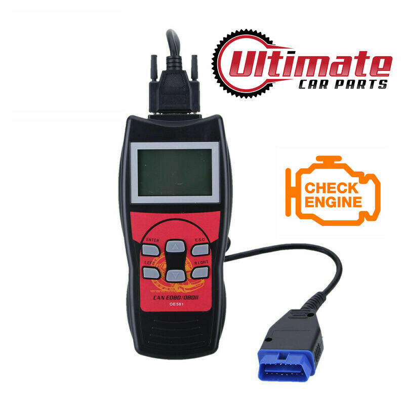 Car Fault Code Reader Engine Scanner Diagnostic Reset Tool Obd 2 Can To Fix No Communication Bus Wiring Problems For 2004 Mazda Vehicles Eobd Uk Ebay