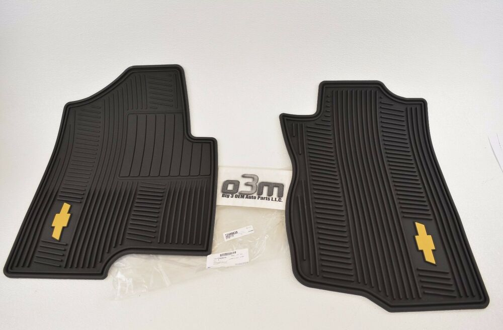 Weather Car Mats >> 2007-2013 Chevrolet Tahoe Suburban Silverado Avalanche All ...