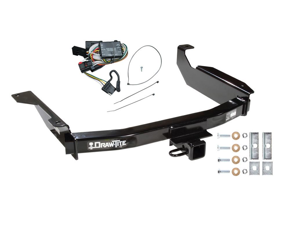 Dodge durango trailer hitch w wiring kit fast