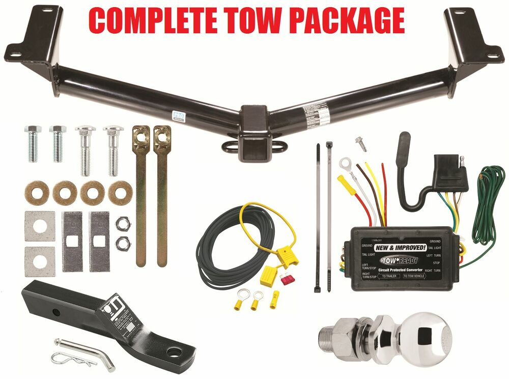 dodge truck hitch wiring 2011-2012 dodge journey trailer hitch + wiring harness kit ...