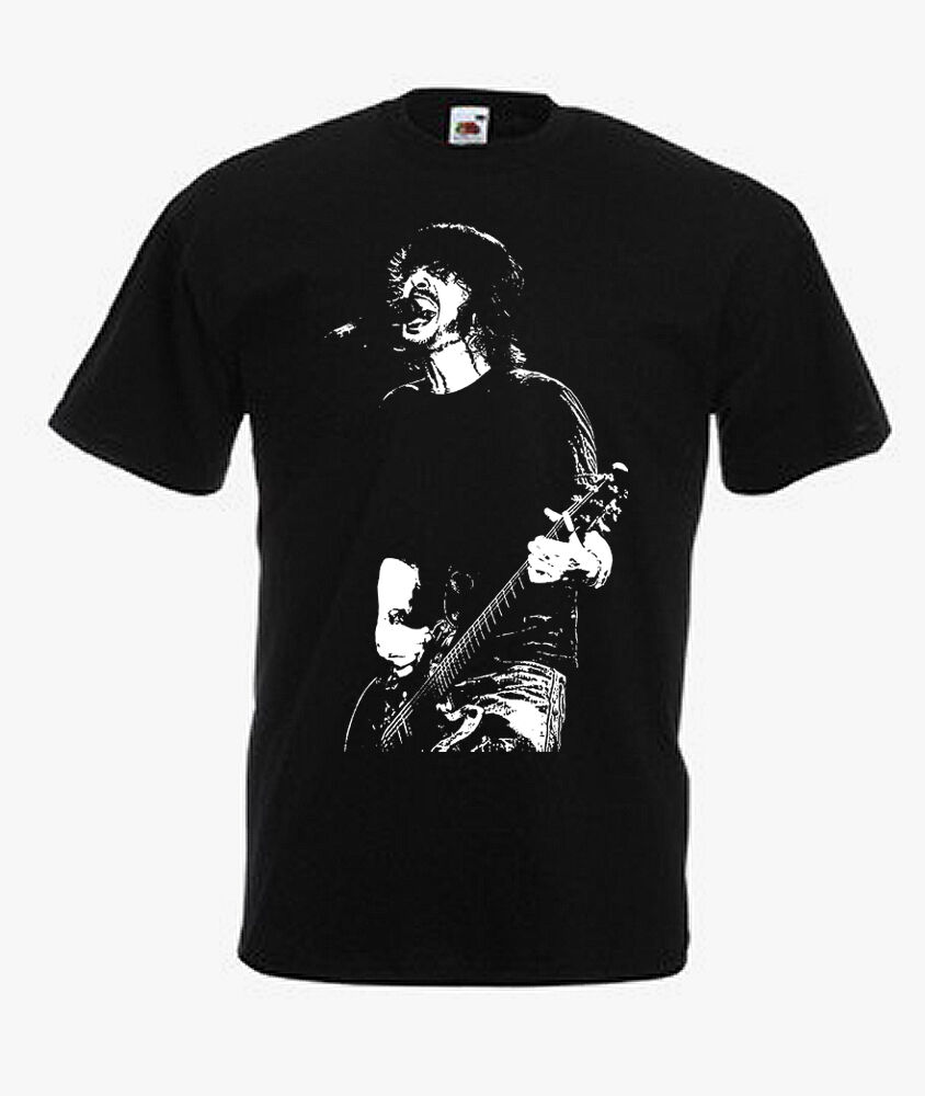 DAVE GROHL (FOO FIGHTERS, NIRVANA) T-SHIRT sizes: S,M,L,XL ...
